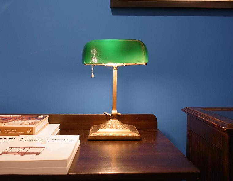 bankers lamp original
