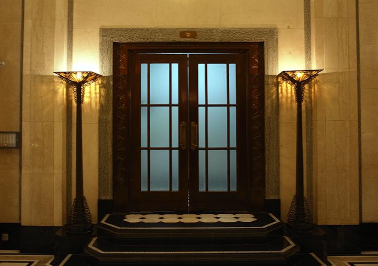 1 ピースホテル ドア