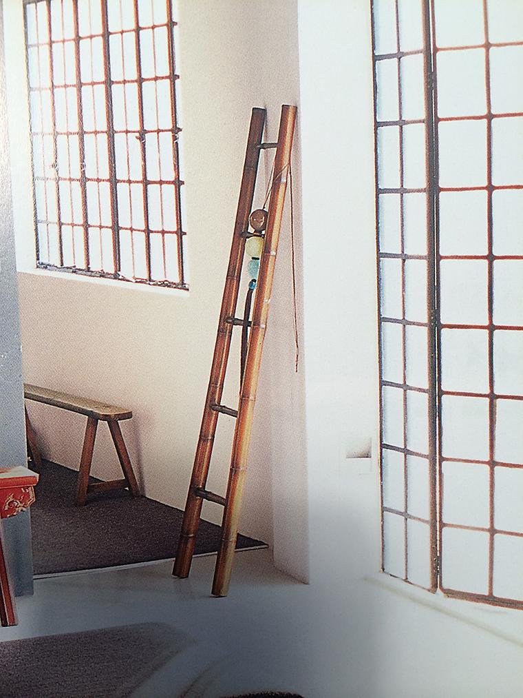 6 竹のはしご