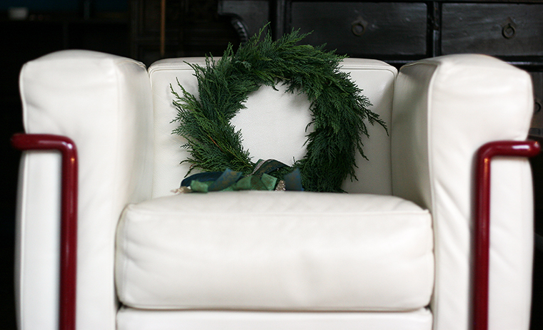 christmas wreath S size image