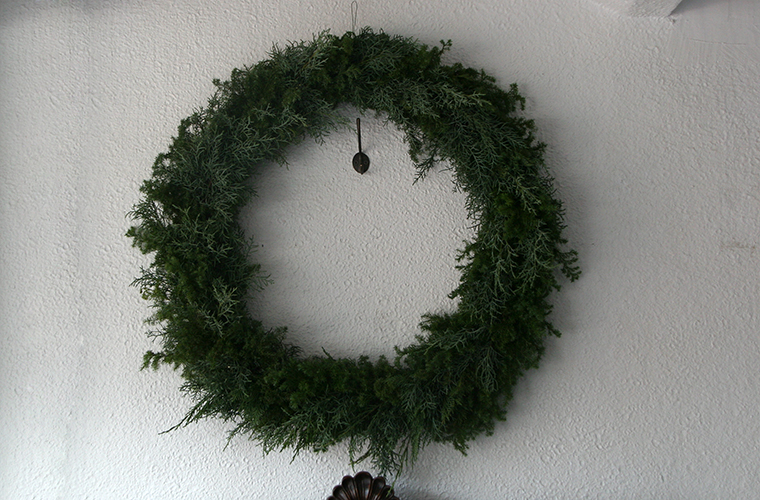 christmas wreath L size