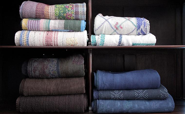 vintage indian quilt