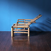 bamboo chaise longue for child - 子供用の竹の寝椅子