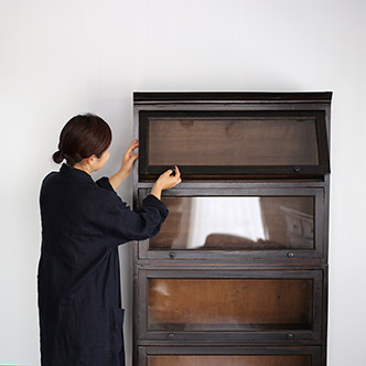 book shelf with drawer - 書棚 引出し付