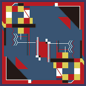 """Rungta Dhurrie rug series"" ~ indian traditional techiniques and patterns ~"