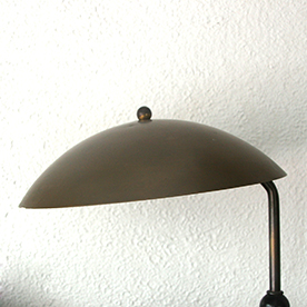 Daalderop bronzed metal desk lamp デスクランプ