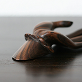 carved wooden hand  / 木彫りの手